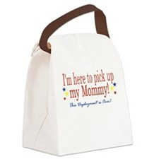 Cute Welcome home military Canvas Lunch Bag