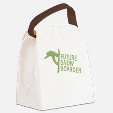 Future Snowboader Canvas Lunch Bag