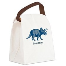 triceratops Canvas Lunch Bag