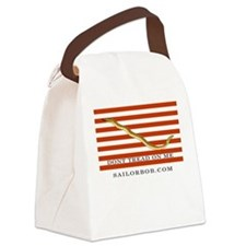 First Navy Jack Canvas Lunch Bag