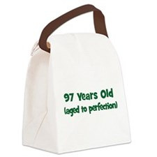 97 Years Old (perfection) Canvas Lunch Bag