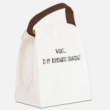 What... Is my Aspergers syndr Canvas Lunch Bag