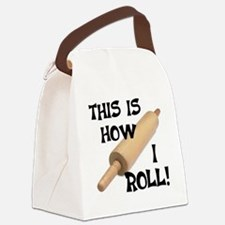 Rolling Pin Canvas Lunch Bag