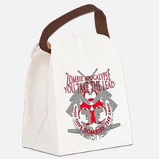Zombie apocalypse Canvas Lunch Bag