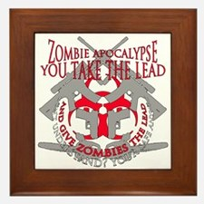 Zombie apocalypse Framed Tile