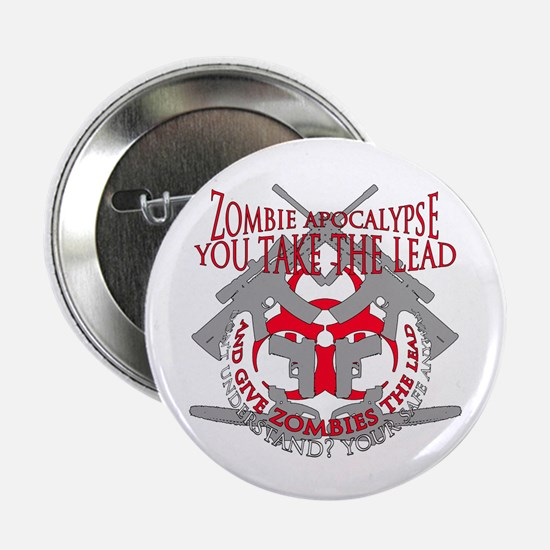 "Zombie apocalypse 2.25"" Button (10 pack)"
