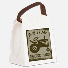 My Tractor T-Shirt Canvas Lunch Bag
