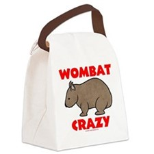 Wombat Crazy Canvas Lunch Bag