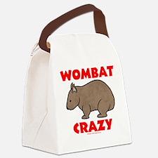 Wombat Crazy Canvas Lunch Bag