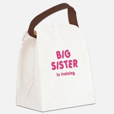 Big Sister In Training Canvas Lunch Bag