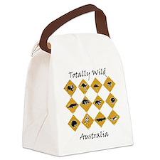 Unique Wombat Canvas Lunch Bag