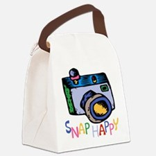 ...Snap Happy... Canvas Lunch Bag