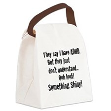 ADD / ADHD Shiny - Canvas Lunch Bag