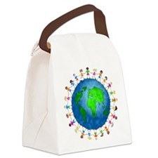 Save the earth - Canvas Lunch Bag