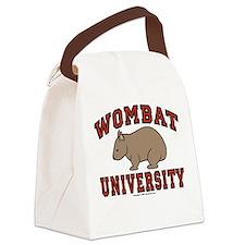 Wombat University Canvas Lunch Bag Light