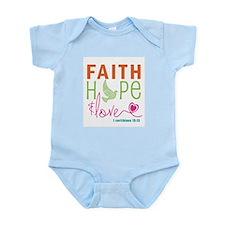 Faith Hope & Love Infant Bodysuit
