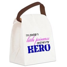 Daddy's little princess Canvas Lunch Bag