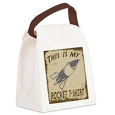 My Rocket T-Shirt Canvas Lunch Bag