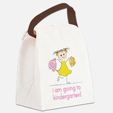 I'm Going to Kindergarten Canvas Lunch Bag