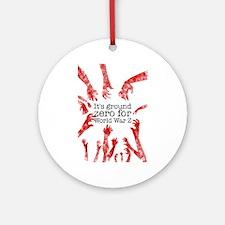 World War Z Ornament (Round)