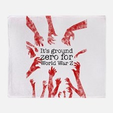 World War Z Throw Blanket