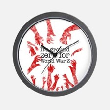 World War Z Wall Clock