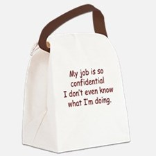 MyJob Canvas Lunch Bag