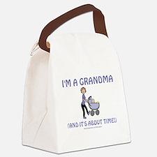 I'm A Grandma Canvas Lunch Bag