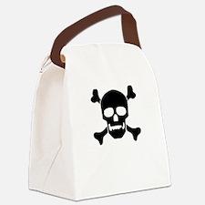 Cute Ship nautical compass Canvas Lunch Bag