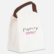 Perfect Braille Canvas Lunch Bag