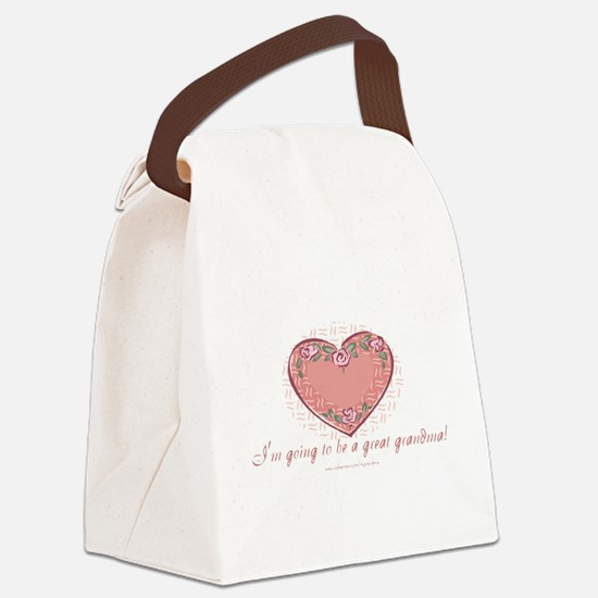 Great Grandma 2 Be Canvas Lunch Bag