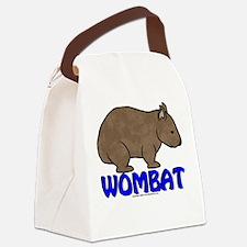 Wombat Logo III Canvas Lunch Bag