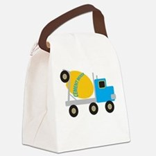 Cement Mixer Canvas Lunch Bag
