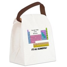 It's All Elemental Canvas Lunch Bag