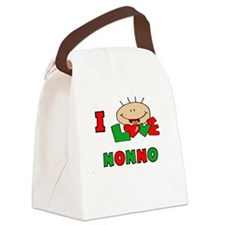 I Love Nonno Canvas Lunch Bag
