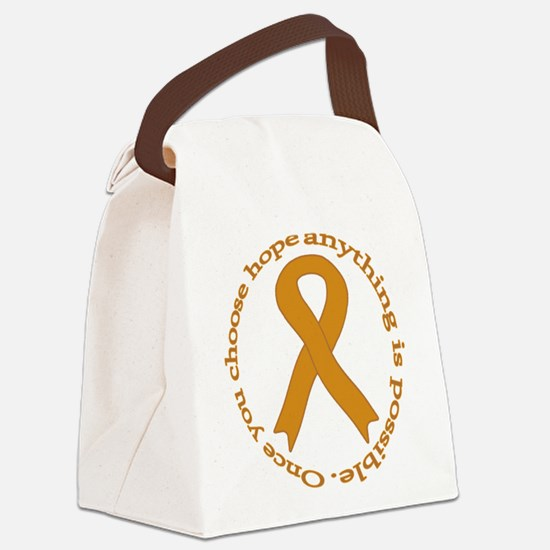 Copper Hope Canvas Lunch Bag