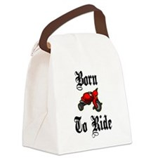 Born To Ride Canvas Lunch Bag