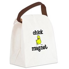 Chick Magnet Canvas Lunch Bag