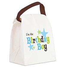 Birthday Boy Canvas Lunch Bag