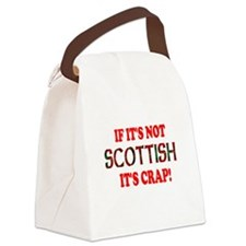 If it's not Scottish, It's Cr Canvas Lunch Bag
