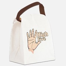 High Five Borat Movie Quote Canvas Lunch Bag