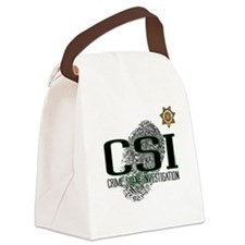 CSI Canvas Lunch Bag