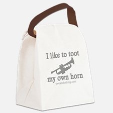 Toot Trumpet Canvas Lunch Bag