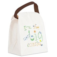 fun font new big cousin Canvas Lunch Bag
