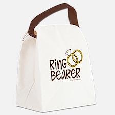Ring Bearer Canvas Lunch Bag