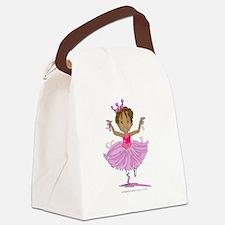 Ballerina Dancer Canvas Lunch Bag