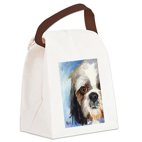 Shih Tzu #1 Canvas Lunch Bag