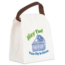 Your Fly Is Down Canvas Lunch Bag