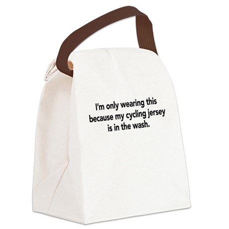 Cycling Canvas Lunch Bag