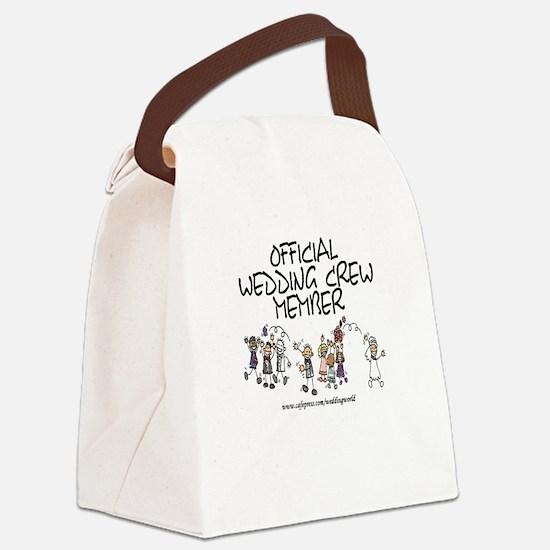 Wedding Crew Member Canvas Lunch Bag